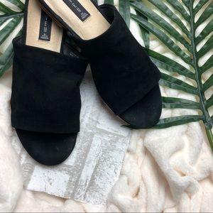Steven by Steve Madden Suede Mules